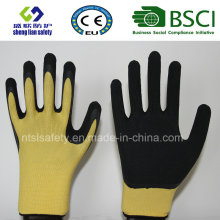 Foam Latex Coated Gardening Safety Glove