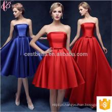 Guangzhou Hot Sale Sexy Light Colored Off-Shoulder Chiffon Plain Dyed vestido de dama de honra