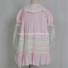 Boutique Baby Girls Pink Heirloom Dress