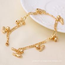 Xuping Jóias de Moda Pulseira de Ouro 18k (71359)