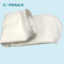 Sac de filtration en PTFE de collecteur de poussière de tissu de 700gsm