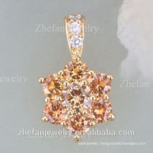 Forever hot selling 18k gold plated necklace best friend cheap Rhodium plated jewelry is your good pick