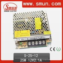 Smun 25W 12V Fuente de alimentación de conmutación de salida única AC-DC