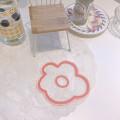 Acrylic Flower Shaped Coasters