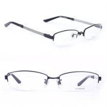 Ry Titanium Original Eyeglasses Half Rim Brand Name Frames (Ry8684)