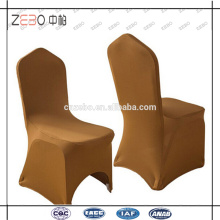 Diferentes cores disponíveis casamento usado baratos Fancy Spandex Chair Covers