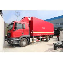 Camion de boîte de congélateur de camion de réfrigérateur de HOWO