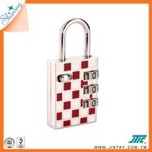 Shining Luggage Digit Combination Padlock with USB Drive