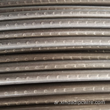 2-Sided 4-Sided 8mm Oval Indented PC Wire