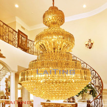 Big crystal chandelier with UL and CE certificate, OEM welcome LT-62052