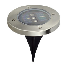 18W 110V en acier inoxydable Shell IP65 Outdoor Colorful LED Buried Lights