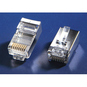 Plugue Modular blindado de CAT5