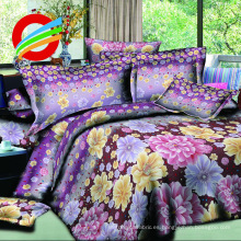 ropa de cama impresa textil para el hogar 100% poliéster
