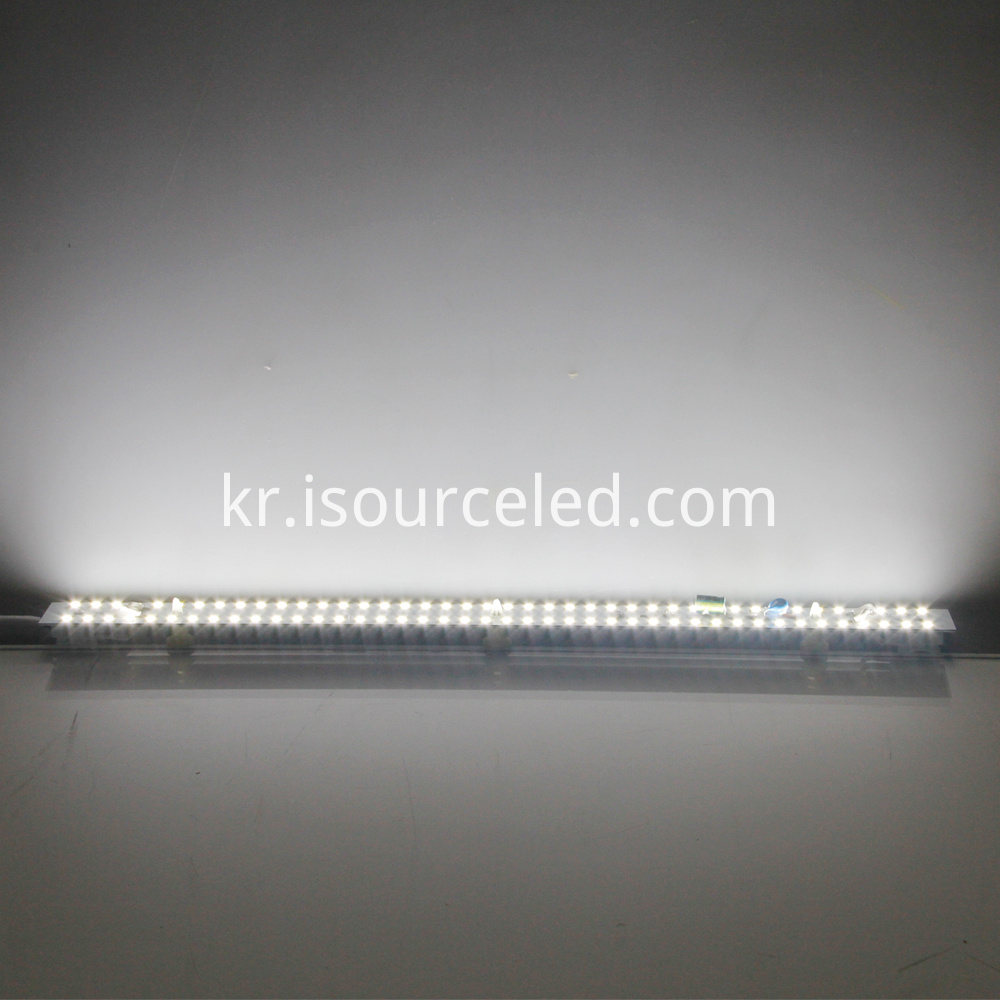 Ac driverless Dimming 9W AC LED Module Strip luminous diagram