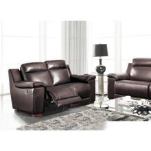 Living Room Genuine Leather Sofa (907)