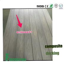 Suelo compuesto de madera WPC de la Coextrusión al aire libre impermeable de WPC