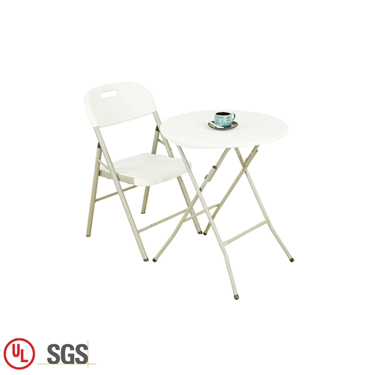 74CM Height Round Folding Table