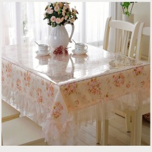 Couverture de table en gros nappe douce de PVC