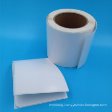 hot sale blank white removable sticker paper roll