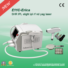 Elight IPL Epilation professionnel et Q-Switch Swicth Tattoo Removal Equipment