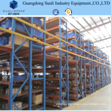 Multi Layer Storage Steel Mezzanine Rack Floor