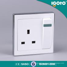 Igoto B9013 1gang 13A zócalo interruptor eléctrico interruptor y zócalo eléctricos