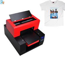 Impresora de camiseta de cama plana A3 Dtg