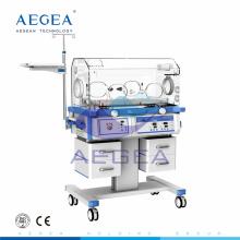 AG-IIR003 four silent medical used castors hospital medical baby neonatal incubator manufacturers