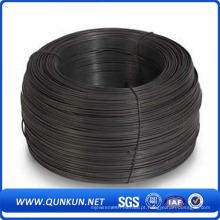 Fio de fixação de ferro recozido preto para construção