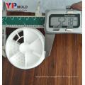 yuyao manufacturer PP plastic milk powder bucket lid injection molding/mould maker