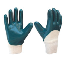 Chemical Resistant Fully Nitrile Heavy Jersey Gloves with EN388 4121X