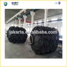 2015 china manufacturer supply 1.5m *3 boat marine rubber fender with Galvanized Chain and Tyre made in china