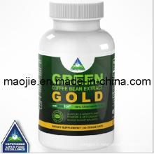 Grain de café vert extrait or pour supplément de perte de poids