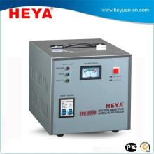 Certificat CE Régulateur de tension monophasé Conditionneur de puissance 3000VA avec affichage du compteur