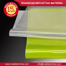 staubdicht Mikroprismenring reflektierende PVC-Blatt roll