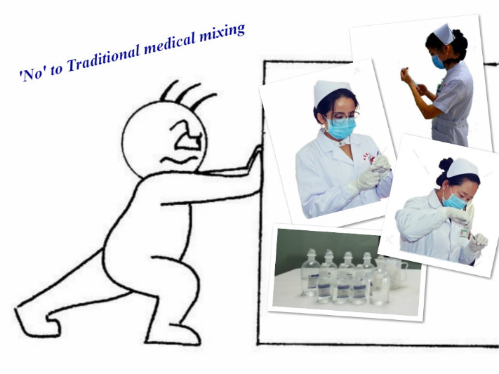 Say No to traditional Medical Mixing