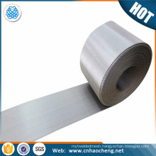 316 316L stainless steel dutch weave wire mesh filter screen belt