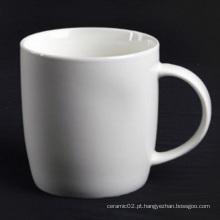 Super caneca de porcelana branca - 14CD24364