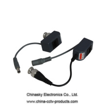 1 Channel Video Power Balun , Video Balun with Power over Cat-5 for CCTV Cameras, VB213&A