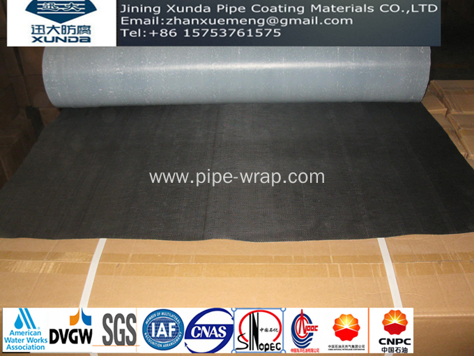 PP  Fiber Woven Tape For Water Natural Gas Pipeline