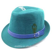 100% Baumwolle für benutzerdefinierte Logo billig Preis mit Lederband Eimer Kappe