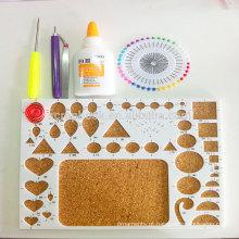 ABS + cortiça board para quilling papel do ofício de kits folhos kit de ferramentas de design