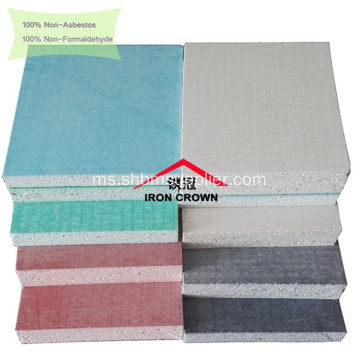 No-asbestos Sound-Insulation Board-MgO Impact-Resistant
