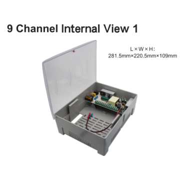 CCTV Power Distribution Box 8 canali