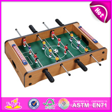 2014 nouvelle table en bois foodball jouet pour enfants, table de football en bois table de football, table de jouet en bois football pour enfants usine w11a026