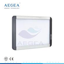 AG-KL001 Brillo de luz de fondo ajustable LED fuente 80000 horas de trabajo médico observación dental película de rayos x visor de la lámpara