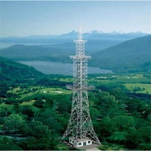 Factory Price Steel Tubular Pole Top Build Tower Telecommunication Tower