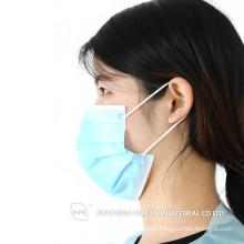 CE/FDAISO13485 for disposable non woven surgical earloop Facemask (Earloop)