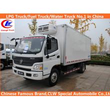 Foton 150HP, 160HP, 180HP 4*2 Refrigerated Truck