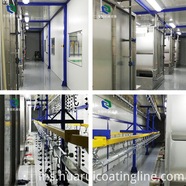liquid coating line